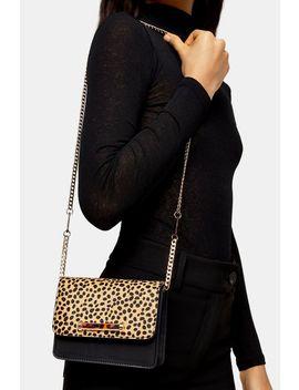 Ella Leopard Print Mini Bag by Topshop