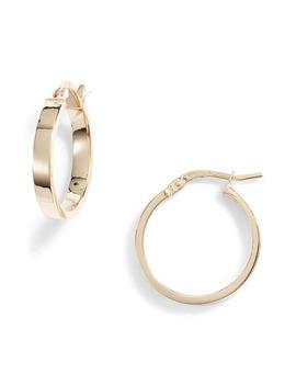 14 K Gold Hoop Earrings by Bony Levy