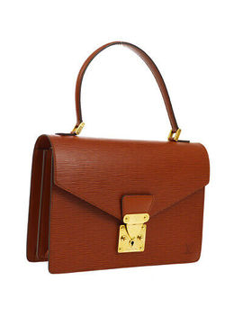 Louis Vuitton Concorde Business Hand Bag Satchel Brown Epi M52133 Sr0955 Ak40987 by Ebay Seller