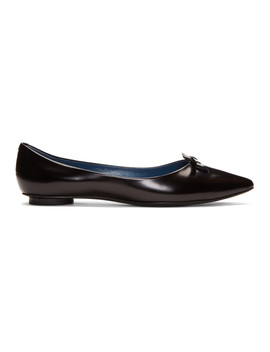 Black Redux Fw98 'the Mouse Shoe' Ballerina Flats by Marc Jacobs