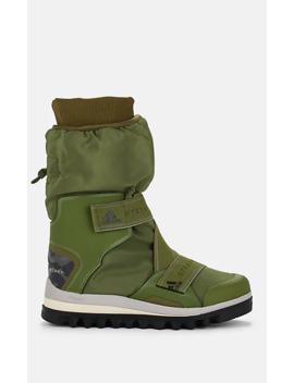 Logo Detailed Nylon Winter Boots by Adidas X Stella Mc Cartney