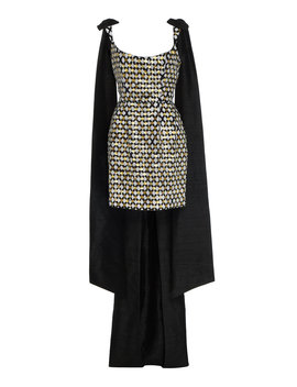 Grace Sequined Cotton Mini Dress by Markarian