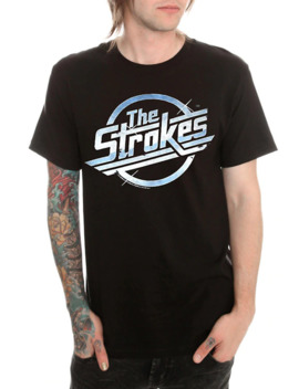 The Strokes Logo T Shirt by Hot Topic