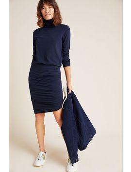 Sundry Liana Ruched Midi Dress by Sundry