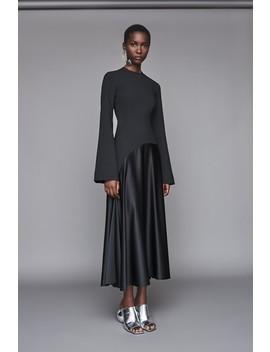 Gaia Dress Black by Solace London