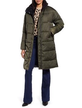Reversible Puffer Coat by Halogen