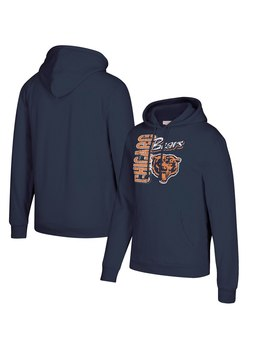 Men's Chicago Bears Mitchell & Ness Navy Winning Team Pullover Hoodie by Nfl