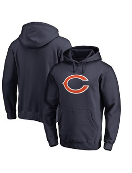 Men's Chicago Bears Nfl Pro Line By Fanatics Branded Navy Big & Tall Primary Logo Hoodie by Nfl