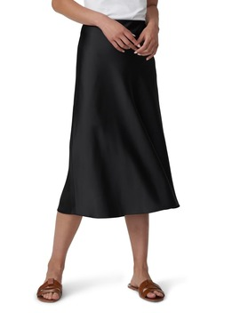 Ceecee Midi Bias Satin Skirt by Universal Standard