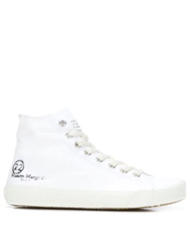 Hi Top Tabi Sneakers by Maison Margiela