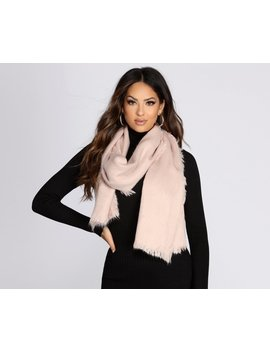 Faux Fur Classic Scarf by Windsor