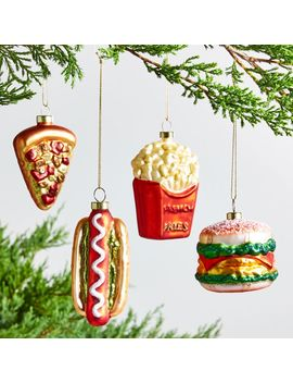 Food Favorites Ornaments by Crate&Barrel