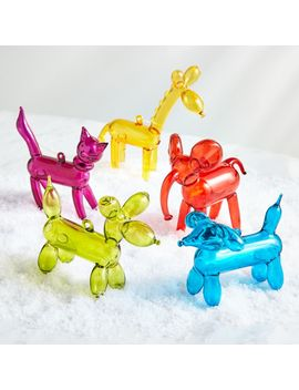 Balloon Animal Ornaments by Crate&Barrel