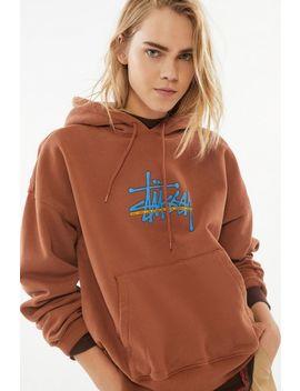 Stussy Ray Pullover Hoodie Sweatshirt by Stussy