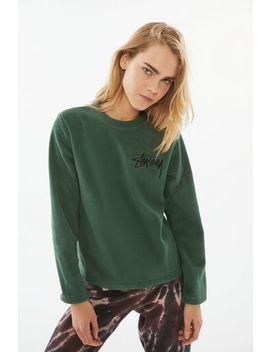 Stussy Terra Polar Fleece Sweatshirt by Stussy
