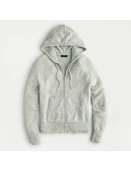 Zip Hoodie Sweater In Supersoft Yarn by J.Crew