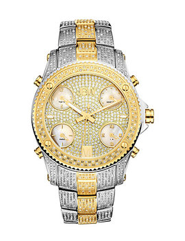 Jbw Men's Jet Setter Diamond & Crystal Watch by Jbw