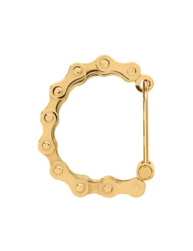 Bicycle Chain Gold Plated Bracelet by Burberry