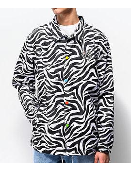 Salem 7 Zebra Coaches Jacket by Salem7