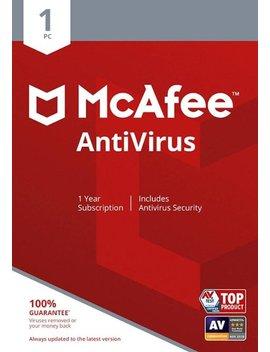 Ear Subscription)   Windows by Mc Afee Anti Virus (1 Device) (