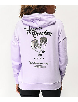A Lab Freela Heartbreakers Lavender Hoodie by A Lab