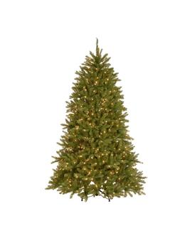 7.5 Ft. Dunhill Fir Artificial Christmas Tree With 750 9 Function Led Lights by Home Accents Holiday