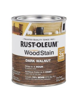 Dark Walnut Rust Oleum Ultimate Wood Stain, Quart by Rust Oleum