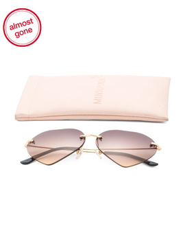 Heart Designer Sunglasses by Tj Maxx
