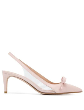 Red(V) Bow Detail Pumps by Red Valentino
