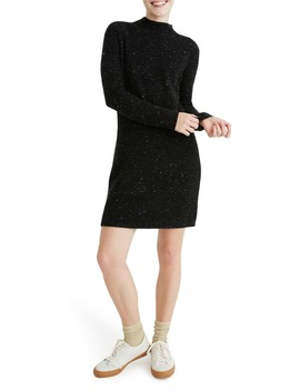 Donegal Rolled Mock Neck Sweater Dress by Madewell
