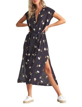 Little Flirt Cap Sleeve Midi Dress by Billabong