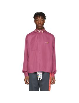 Purple Collection 3 Poplin Button Shirt by Reebok By Pyer Moss