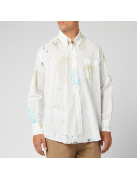 Our Legacy Men's Less Borrowed Shirt   Off Print by Our Legacy
