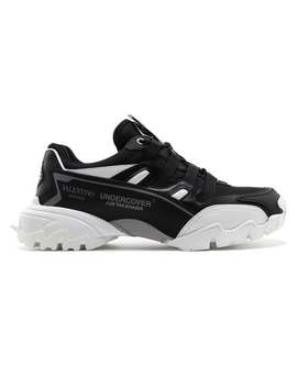 Valentino Garavani\N    \N    Undercover Climber Sneakers Black And White by Valentino Garavani