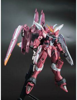 """Premium Bandai Mg 1/100 """"Mg Justice Gundam"""" Painted Build by Bandai"""