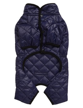 Quilted Puffer Dog Snow Suit by Lovethybeast