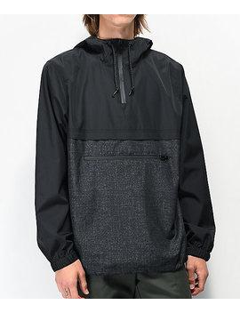 Empyre Transparent Black Anorak Jacket by Empyre