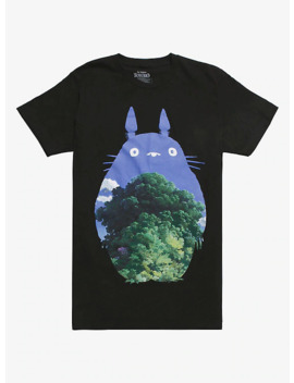 Studio Ghibli My Neighbor Totoro Silhouette & Tree T Shirt by Hot Topic
