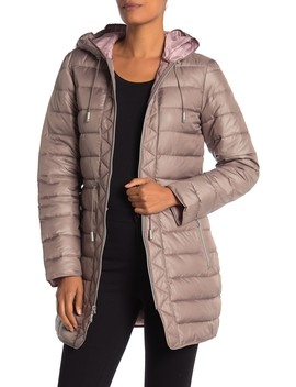 Hooded Packable Coat by Kenneth Cole New York