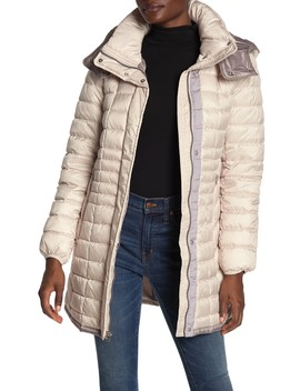Quilted Packable Puffer Coat by Marc New York