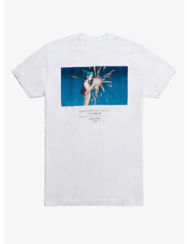 Studio Ghibli The World Of Studio Ghibli Collection Howl's Moving Castle T Shirt by Hot Topic
