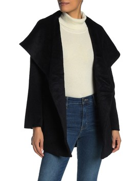 Sheared Long Coat by Trina Turk