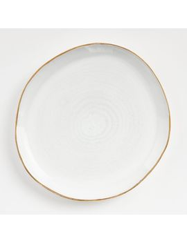 Nina Dinner Plate by Crate&Barrel