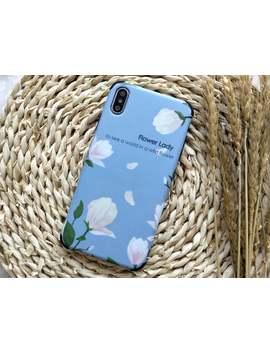 Blue Flowery Flower I Phone Case I Phone Xs Max Case I Phone Xs Case I Phone Xr Case I Phone X Case I Phone 8 Plus Case 8 Case 7 Plus 7 6 S 6 by Etsy