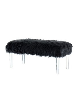"""<Span><Span>Korbin 42"""" Faux Fur Like Glam Bench   Homes: Inside</Span><Br><Span>+ Out</Span></Span><Span Style=""""Position: Fixed; Visibility: Hidden; Top: 0px; Left: 0px;"""">…</Span> by Homes: Inside+ Out…"""