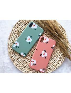 Cute Flowery Painting I Phone Case I Phone Xs Max Case I Phone Xs Case I Phone Xr Case I Phone X Case I Phone 8 Plus Case 8 Case 7 Plus 7 6 S 6 by Etsy