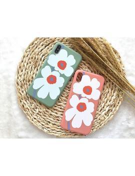 Cute Flower Paint I Phone Case I Phone Xs Max Case I Phone Xs Case I Phone Xr Case I Phone X Case I Phone 8 Plus Case 8 Case 7 Plus 7 6 S 6 by Etsy