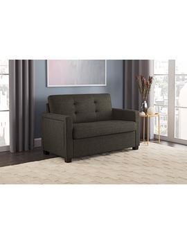 Better Homes And Gardens Porter Loveseat Sleeper Sofa, Gray Linen by Better Homes & Gardens