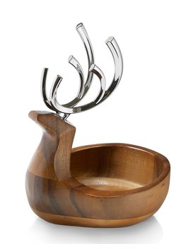 Reindeer Candy Dish by Nambe