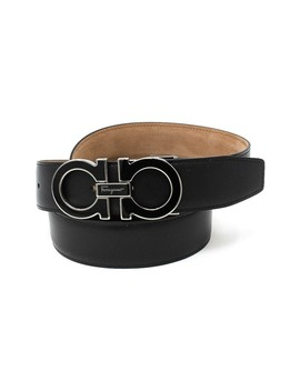 Gancini Leather Belt by Salvatore Ferragamo